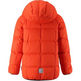 Reima Jord Down Jacket Ungdom Orange